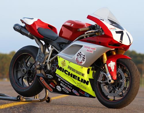 David Podolsky Ducati 1098