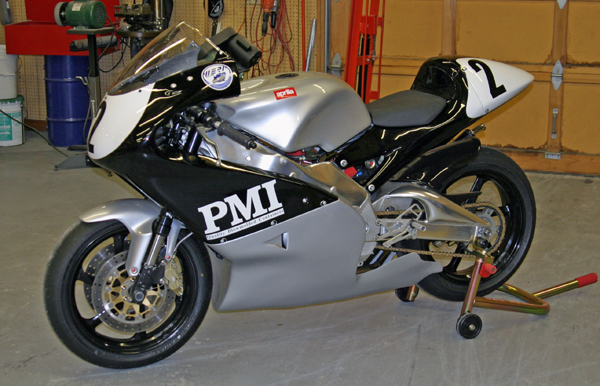 Jim Hinshaw Aprilia RS 250