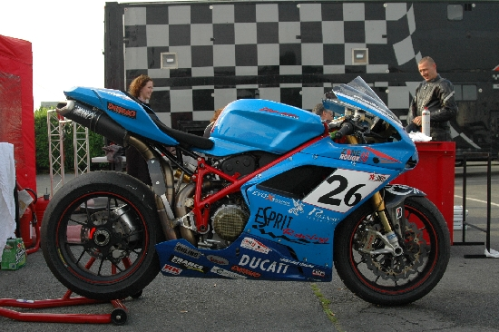 Peter Clark Espirit Racing Ducati 1098