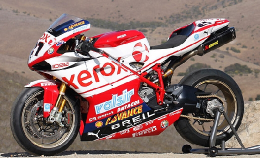 Thomas Grey Ducati 1098R Xerox Bike