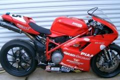 Frank Shockley and Doug Polen Ducati 848