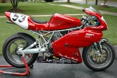 Max Grant Ducati 900SS Gut Buster Bike